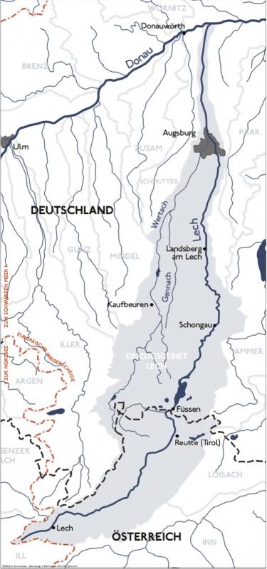Radweg Lechtal